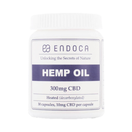 Capsules-Hemp-Oil-300mg-FrontView