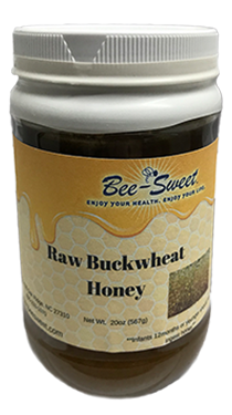Raw Buckwheat Honey 20oz
