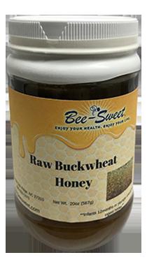 Raw Buckwheat Honey 20oz