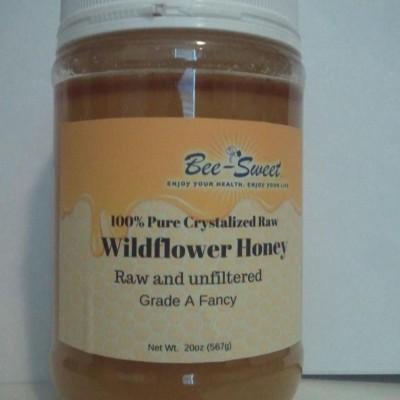 Raw Crystalized Wildflower 20oz