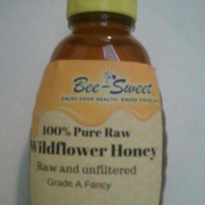 Raw Wildflower honey 1lb