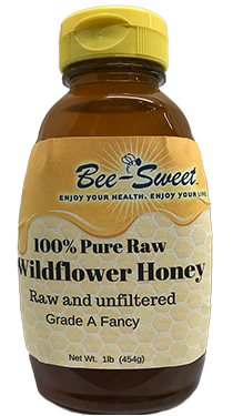 Raw Wildflower honey 1lb